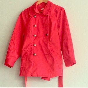 Kenneth Cole Red Trench